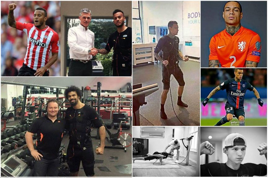 ספורטאים מפורסמים מתאמנים באימון ems